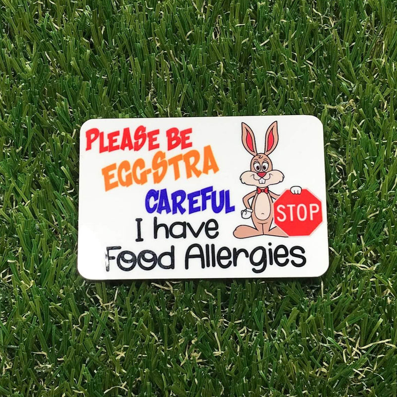 Easter - Eggstra Careful Badge