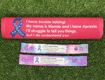 CUSTOM LIVE VIEW - Apraxia Seat Belt Cover