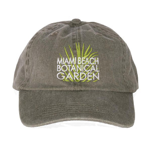 Miami Beach Botanical Garden Green Hat