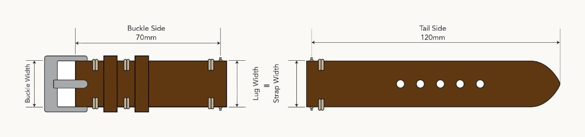 Watch Strap Length Guide