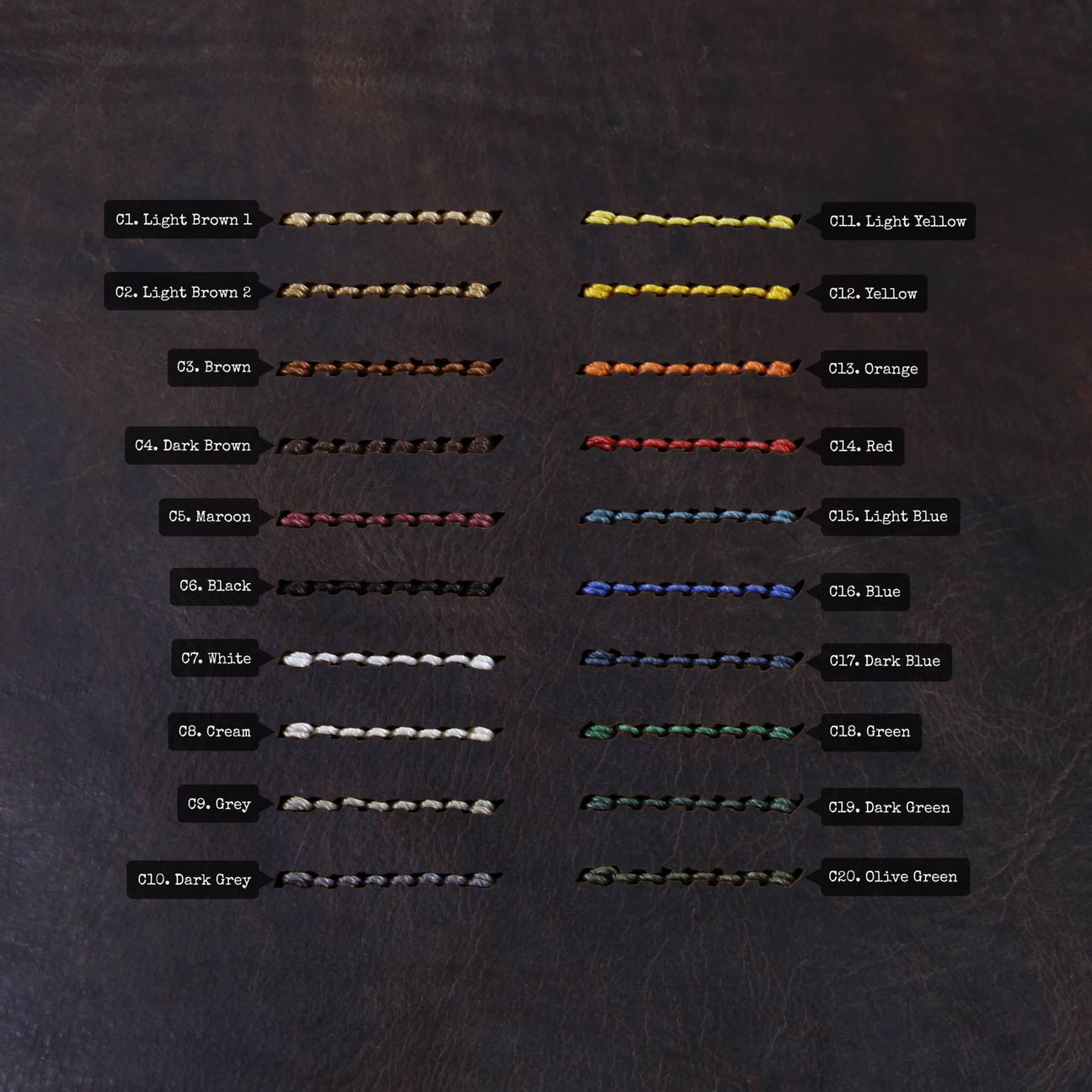 Thread Color Chart | Douglas 110