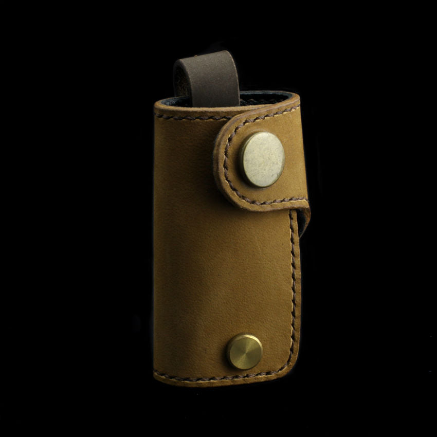 Tanned Nubuck Leather Key Holder