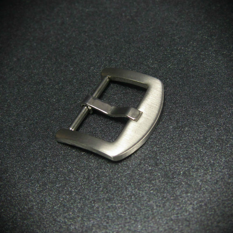 Brushed Steel Thumbnail Spring Bar Steel Watch Buckle