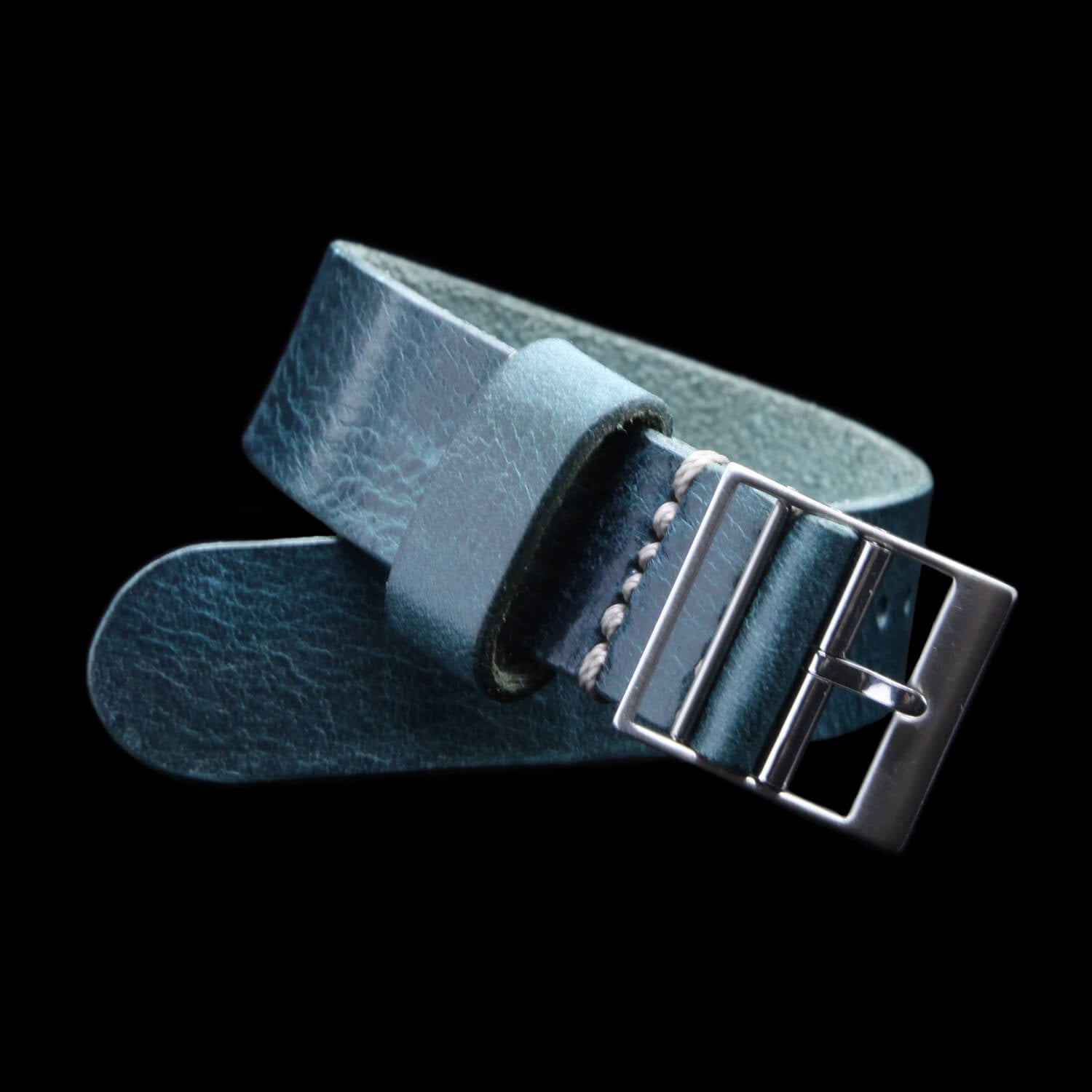 Leather NATO Strap, Classic RAF II Military 106 | Ladder Buckle