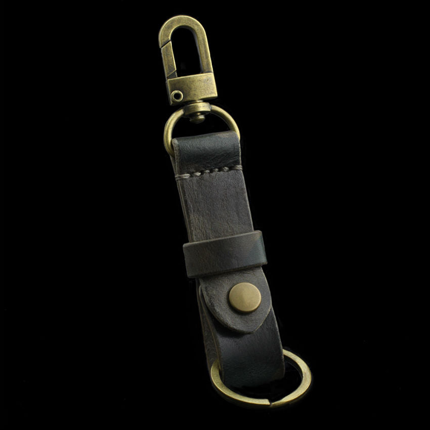 Military 107 Leather Key Fob