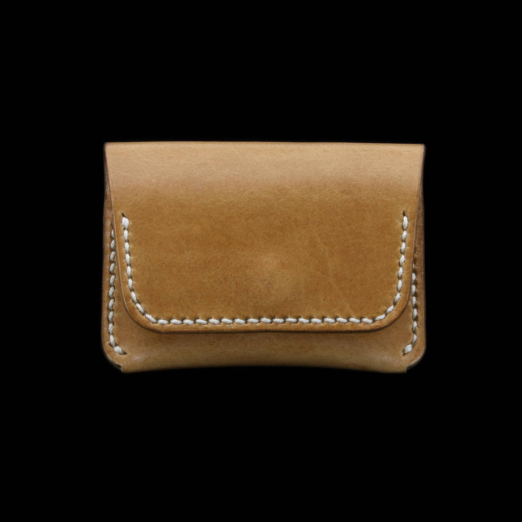Leather Coin Purse, Sequoia 101 | Cozy Handamde