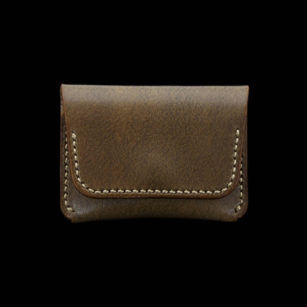 Leather Coin Purse, Sequoia 104 | Cozy Handmade