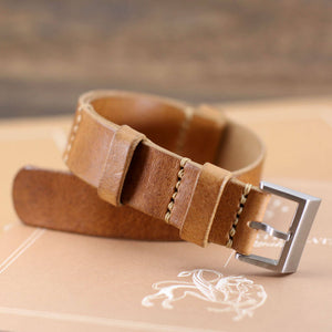 Open image in slideshow, NAT2 Leather Watch Strap, Vintage 401