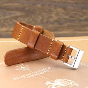 Open image in slideshow, NAT2 Leather Watch Strap, Vintage 403