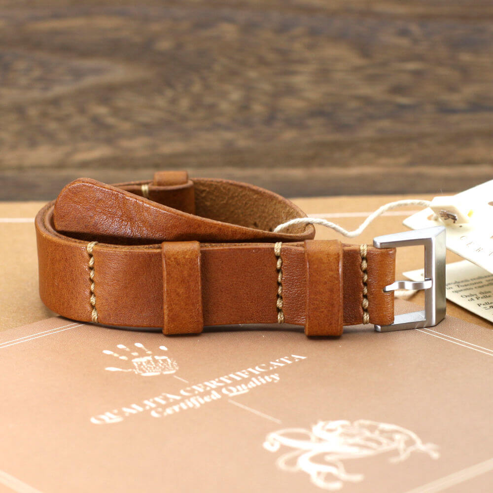 NAT2 Leather Watch Strap, Vintage 403