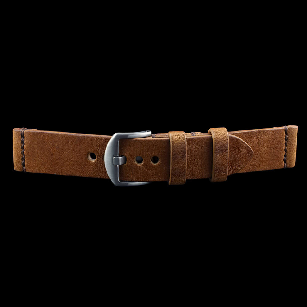 Leather Watch Strap, Vintage 401 | Italian Veg Tanned | Cozy Handmade