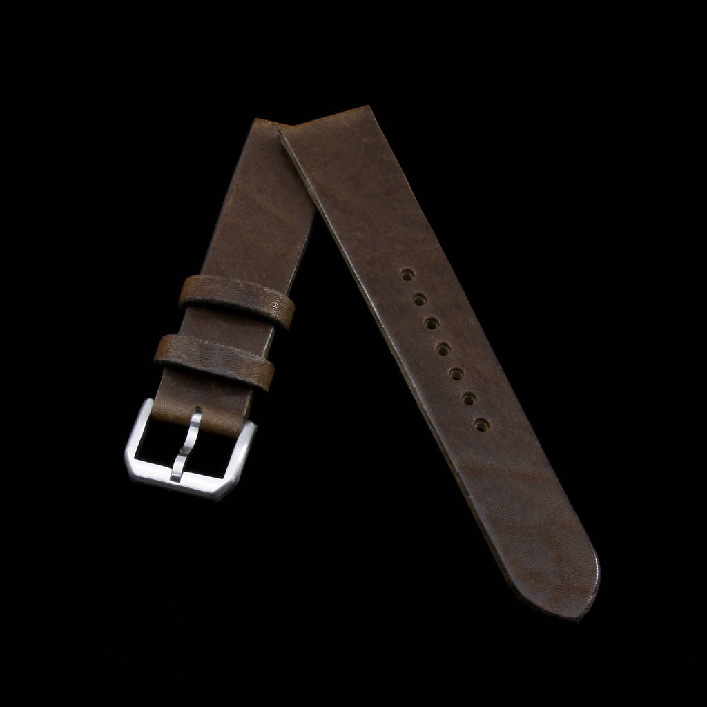 Leather Watch Strap, Vintage 404 | Stitch-less | Cozy Handmade