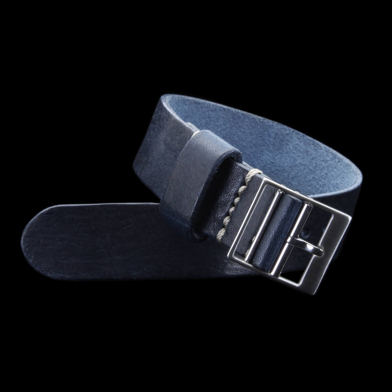 Leather Watch Strap, Classic RAF II Vintage 407 | Ladder Buckle