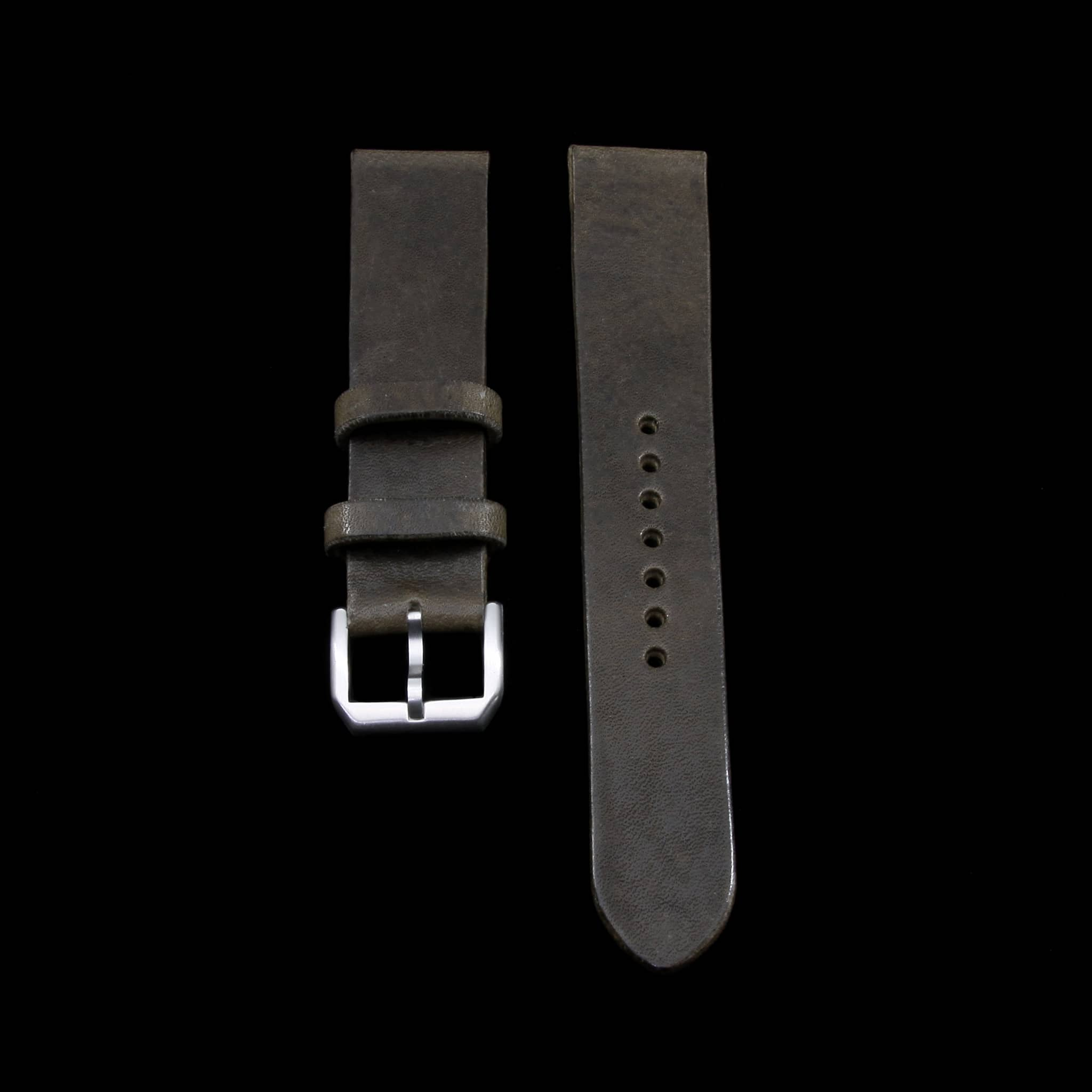 Leather Watch Strap, Vintage 408 | Stitch-less | Cozy Handmade