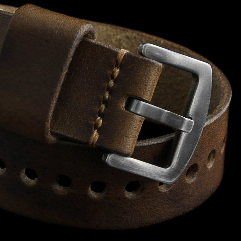 Leather Watch Strap, Classic RAF Vintage 402