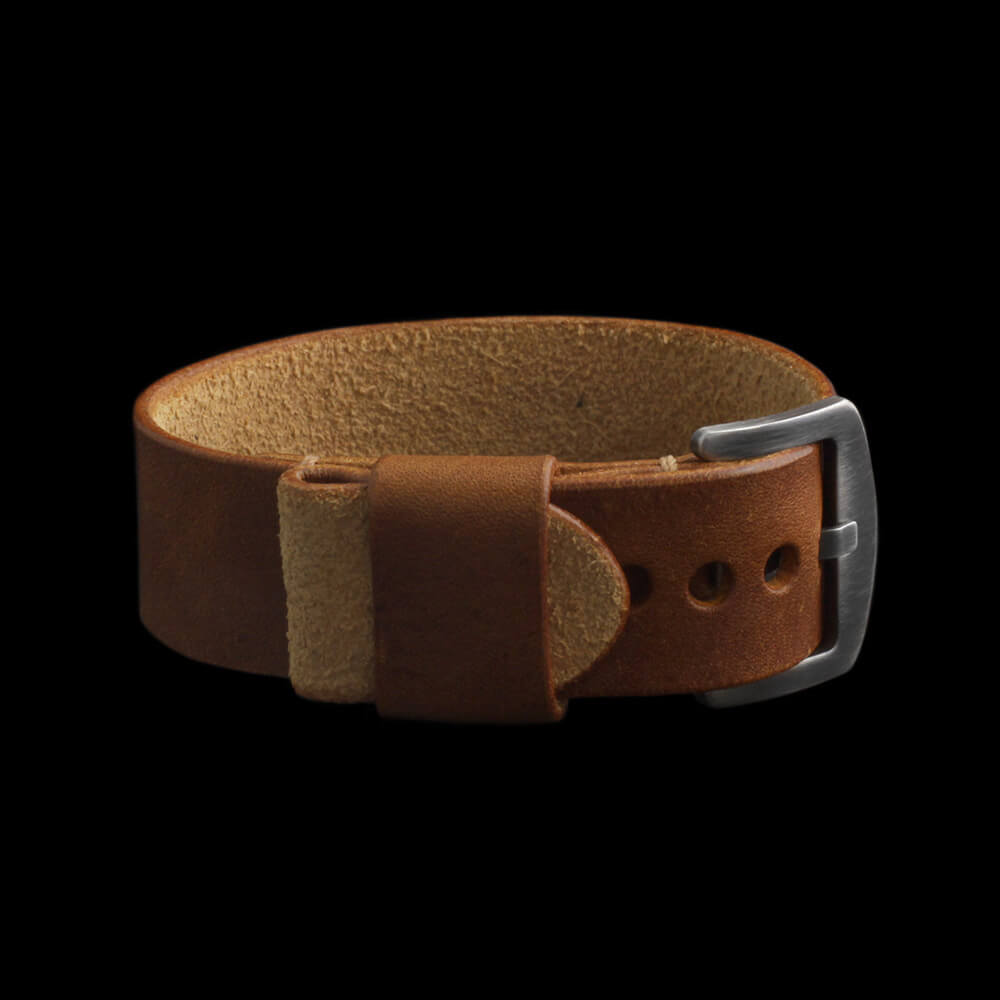 Leather Watch Strap, Classic RAF Vintage 403