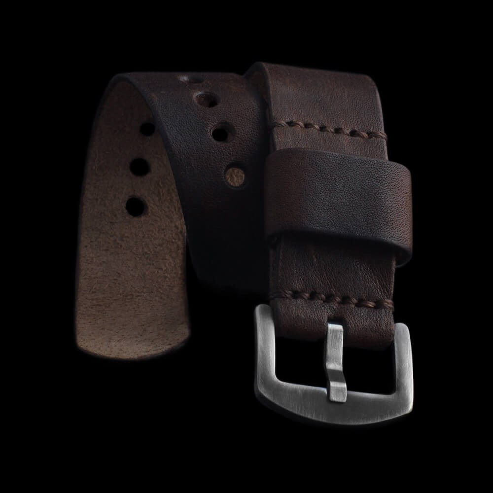Leather Watch Strap, Classic RAF Vintage 405