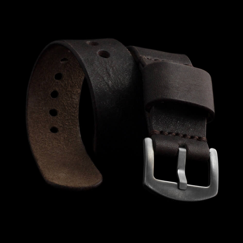 Leather Watch Strap, Classic RAF Vintage 406