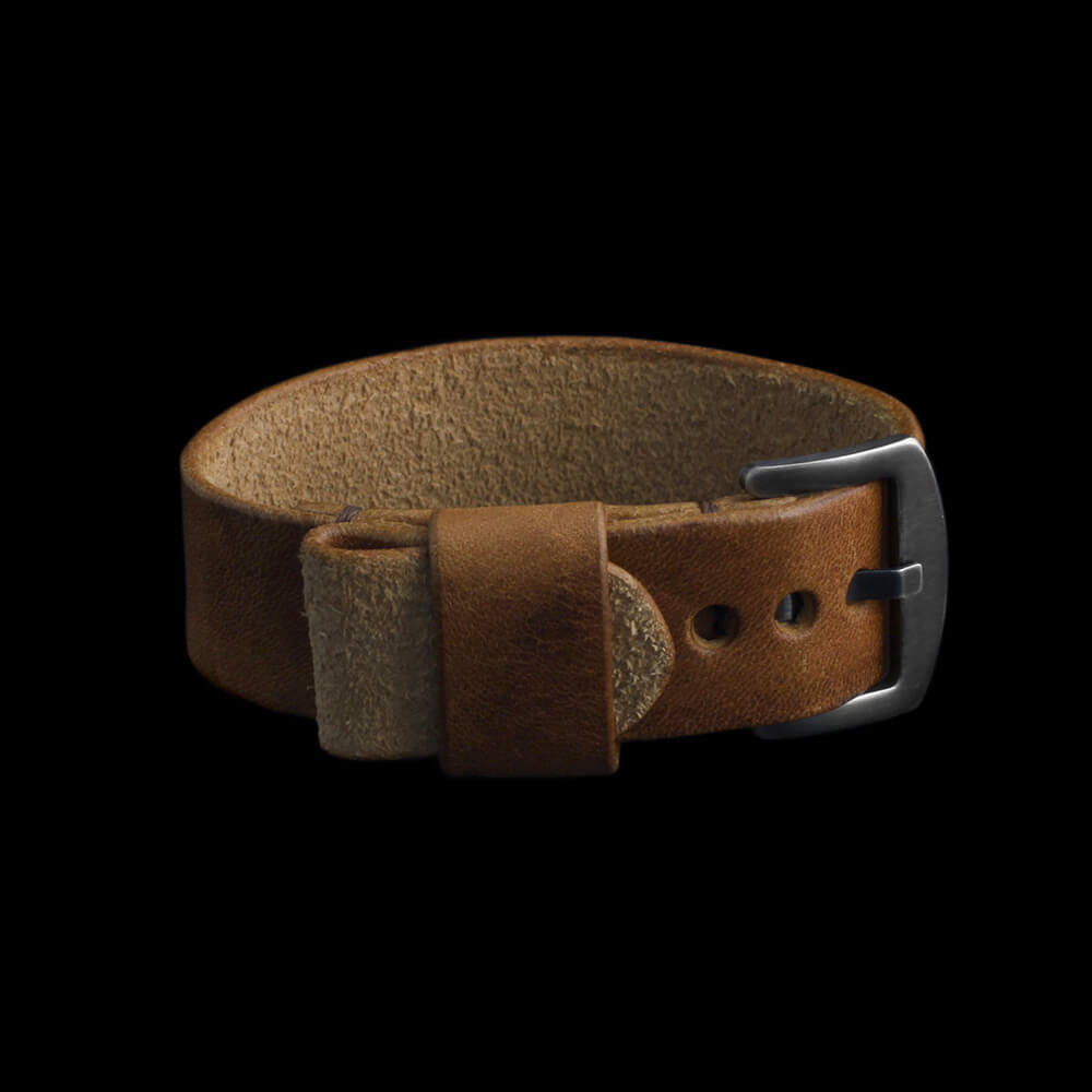 Leather Watch Strap, Classic RAF Vintage 401