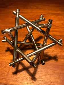 Nova Plexus Limited Edition Stainless Steel Sculpture Puzzle