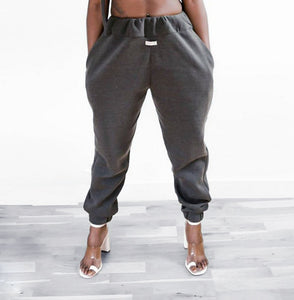 CHLOE DOUBLE ELASTICATED SWEATPANTS