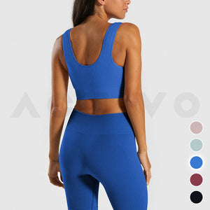 Activo Solace Ribbed Set - Azure