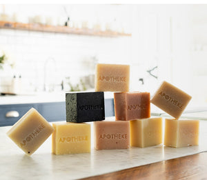Charcoal Bar Soap by Apotheke