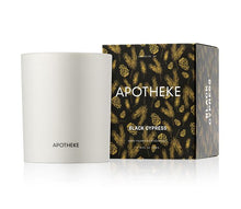 Load image into Gallery viewer, Black Cypress Candle by Apotheke - Massage Heights Shop