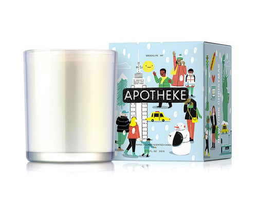 Christmas In New York Candle by Apotheke - Massage Heights Shop