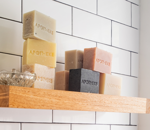 Amber Woods Bar Soap by Apotheke