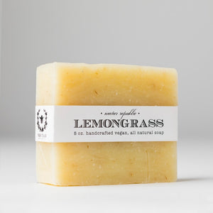 Nectar Republic Lemongrass Handcrafted Soap