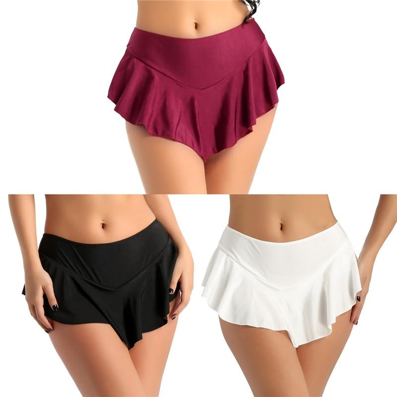Women's Fashion Active Tennis Skirt with Inner Shorts