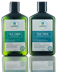 Pack Shock Tea tree shampoo, acondicionador