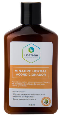 Acondicionador Vinagre Herbal 250 ml