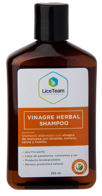 Shampoo Vinagre Herbal 250 ml