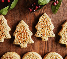 Load image into Gallery viewer, Christmas Tree Crumpets (4 pack)