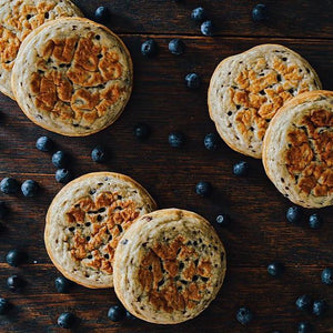BLUEBERRY Crumpets 6 Pack