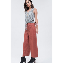 Load image into Gallery viewer, Wide Leg Pocket Pant