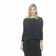 Load image into Gallery viewer, Long Sleeve Boat Neck Top