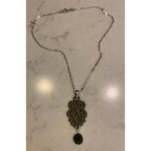 Load image into Gallery viewer, Medieval Buckle & Roman Coin Necklace