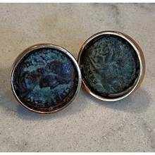 Load image into Gallery viewer, Roman Coin Cuff Links
