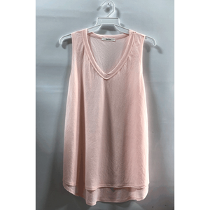 V-Neck Casual Knit Tank Top