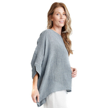 Load image into Gallery viewer, Gauzy Washed Pullover with Knit Cami
