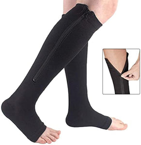[Buy Two Free One] DK™ ZIPPER COMPRESSION SOCKS