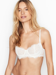 🔥 CLEARANCE SALES 🔥 Victoria Secret Wicked Unlined Lace-Up Balconette Bra