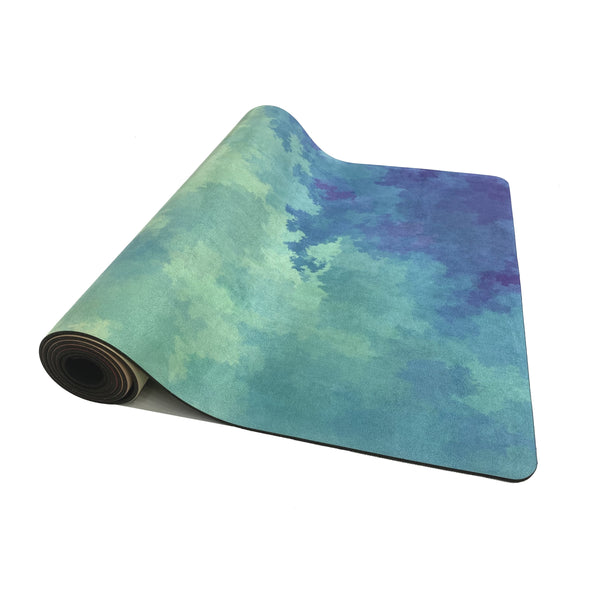 4.5 mm Microfibre eco-friendly Yoga Mat Printed