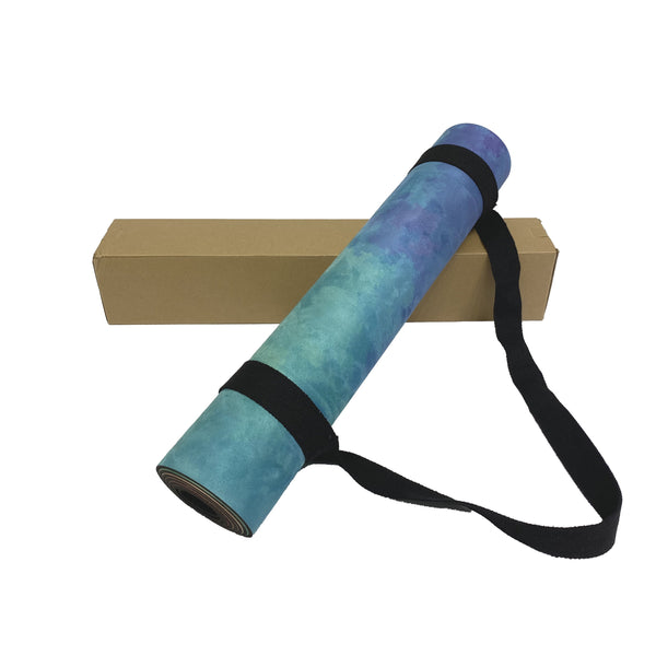 Printed Yoga Mat And Bag Combo