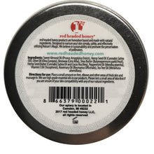 Peppermint & Rosemary Foot Salve-With Arnica and Mints-2 oz Salve- Red Headed Honey