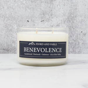 Benevolence ∙ Sandalwood, Patchouli, Oakmoss & Lily of the Valley