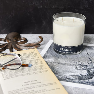 Kraken ∙ Amber, Leather, Driftwood & Musk